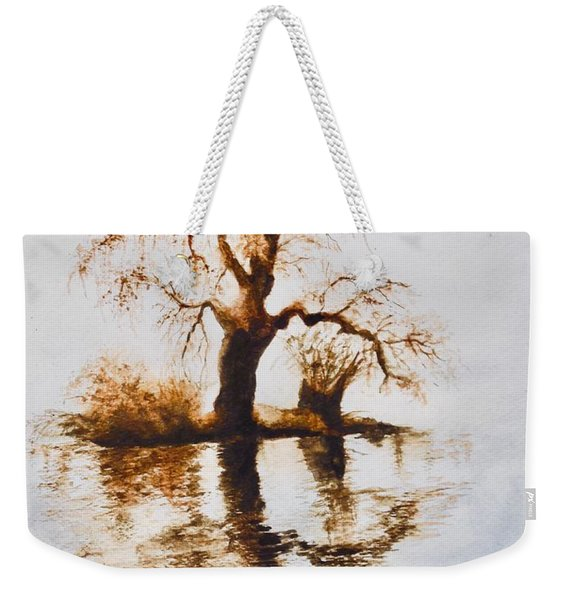 Como Lake Reflections Weekender Tote Bag