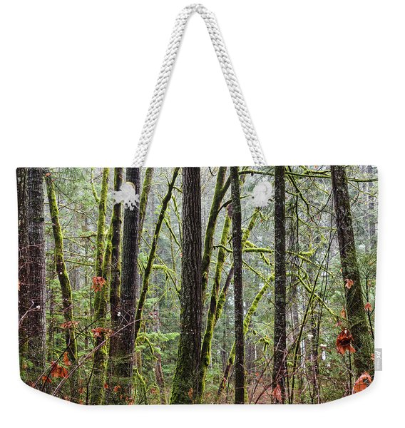 Comox Valley Forest-1 Weekender Tote Bag