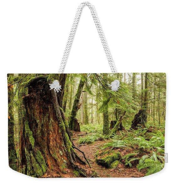 Comox Valley Forrest-3 Weekender Tote Bag