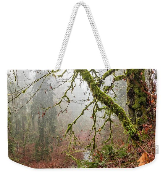 Mist In The Forest Weekender Tote Bag