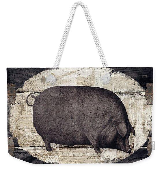 Compagne II Pig Farm Weekender Tote Bag