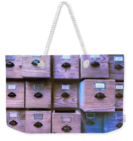 Compartmentalize Weekender Tote Bag