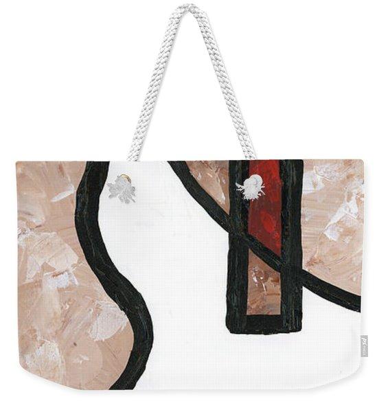 Compartments 1 Weekender Tote Bag