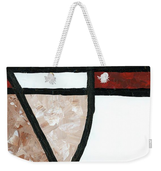 Compartments 2 Weekender Tote Bag