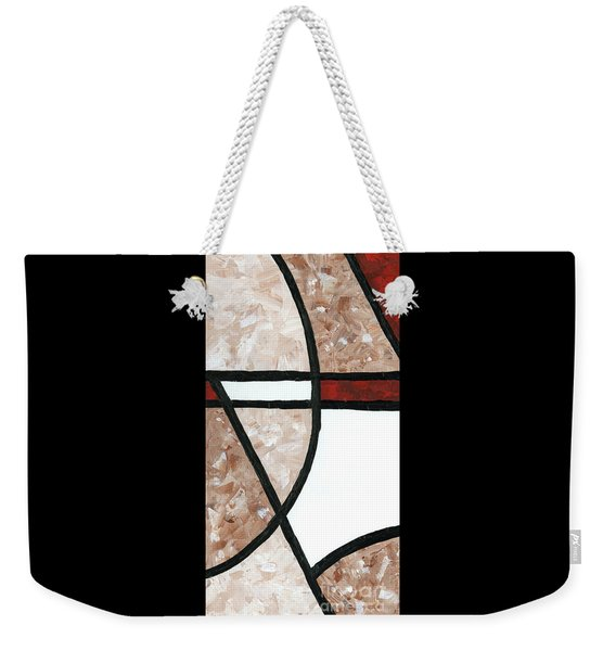 Compartments 2 Weekender Tote Bag