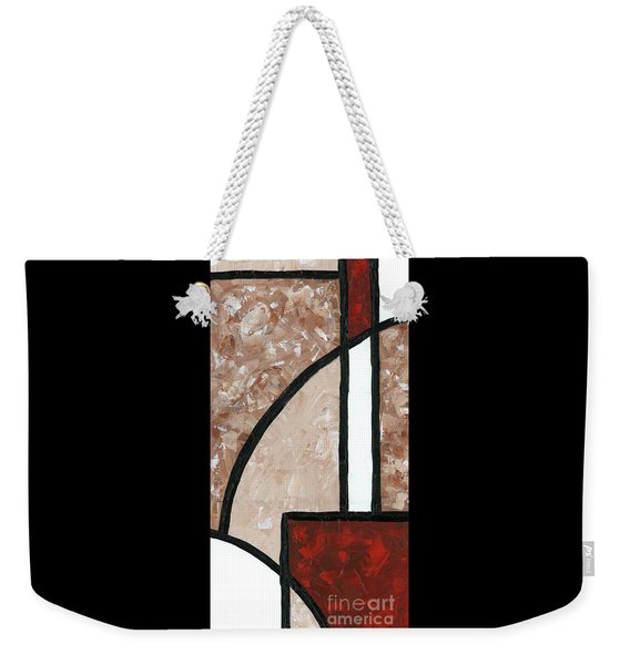 Compartments 3 Weekender Tote Bag