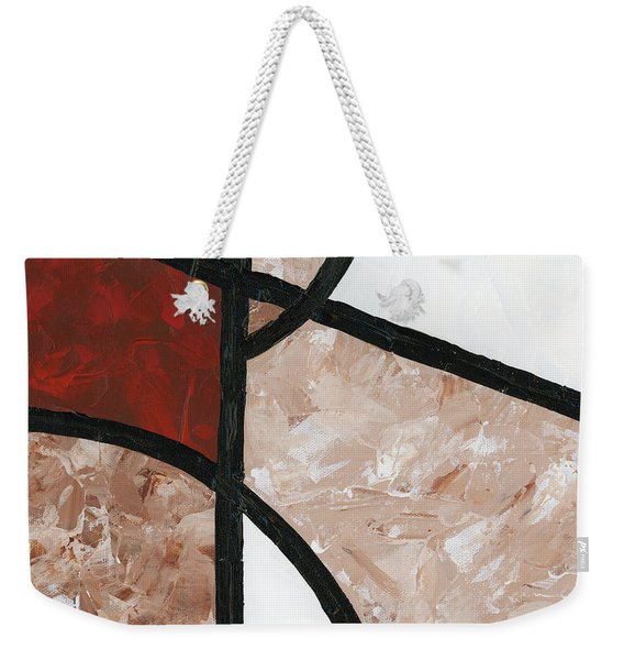Compartments Panel 6 Weekender Tote Bag