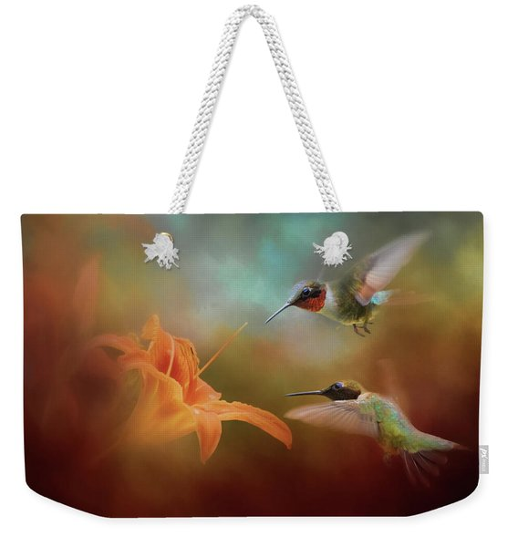 Competing For The Prize Weekender Tote Bag