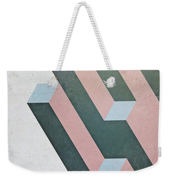 Complex Geometry Weekender Tote Bag