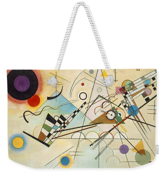 Composition Viii Weekender Tote Bag