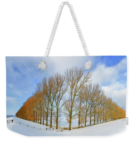 Composition With Trees Weekender Tote Bag