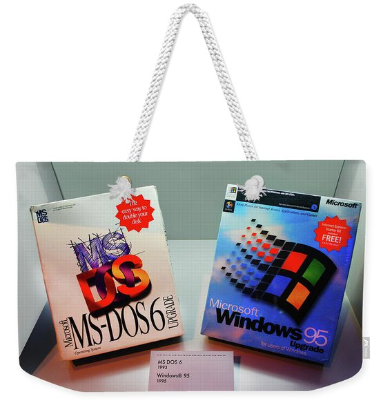Computer Operating System Weekender Tote Bag