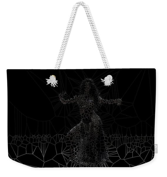 Concave Weekender Tote Bag