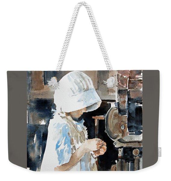 Concentration Weekender Tote Bag