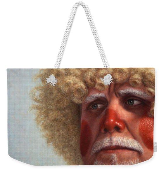 Concerned Weekender Tote Bag