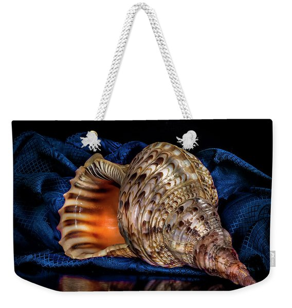 Conch Shell Weekender Tote Bag