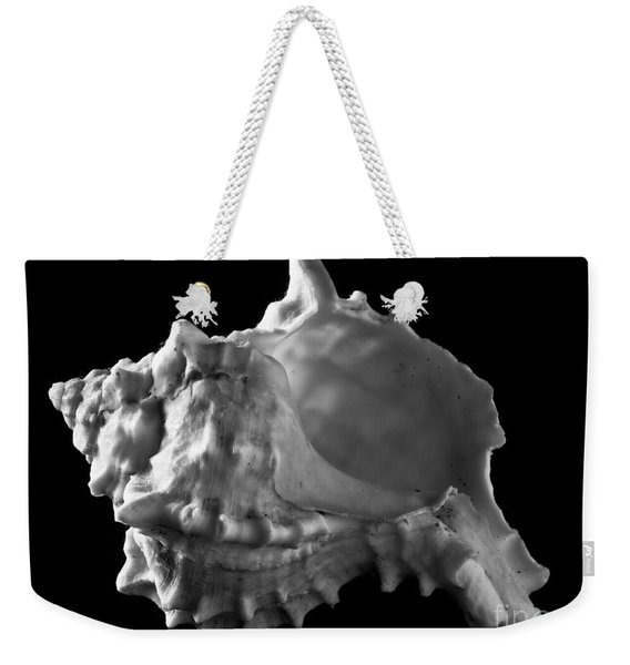 Conch Shell Profile Weekender Tote Bag