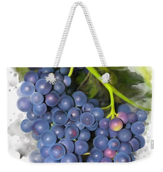 Concord Grape Weekender Tote Bag
