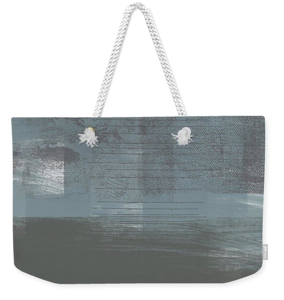 Concrete 1- Contemporary Abstract Art By Linda Woods Weekender Tote Bag
