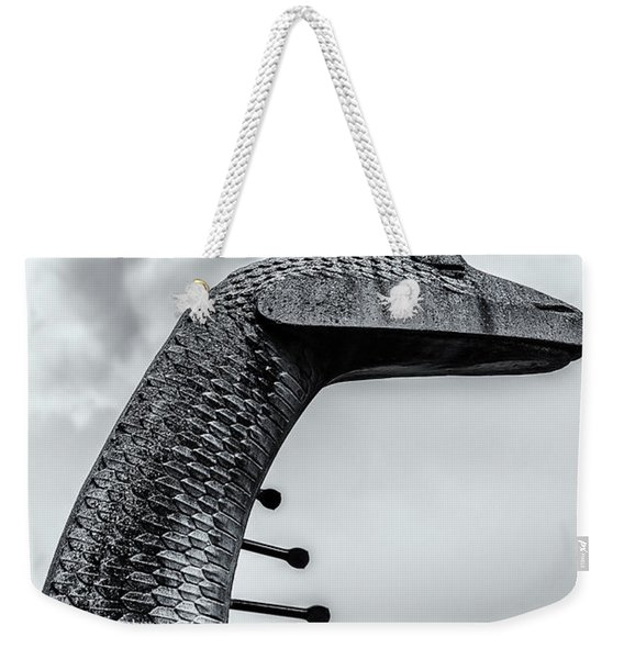 Concrete Serpent Weekender Tote Bag