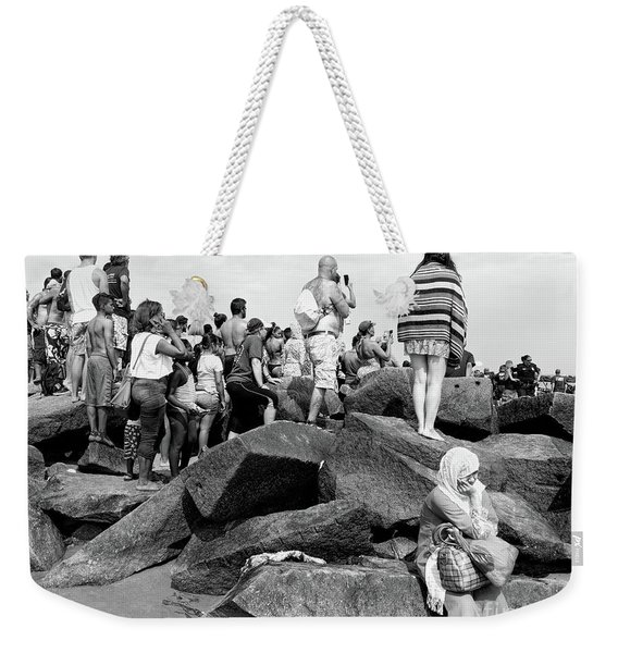 Weekender Tote Bag featuring the photograph Coney Island, New York  #234972 by John Bald