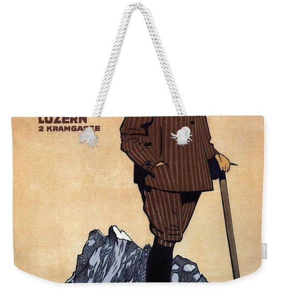 Confection Kehl - Men's Clothing - Vintage Advertising Poster Weekender Tote Bag