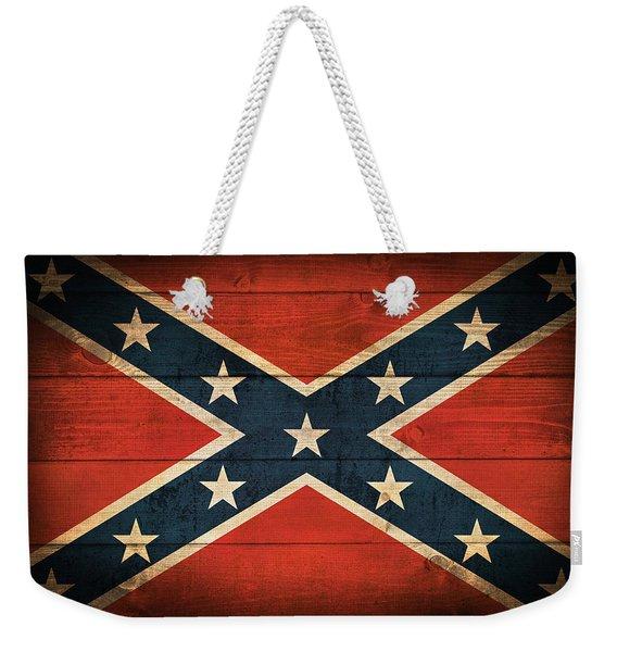 Confederate Flag Weekender Tote Bag