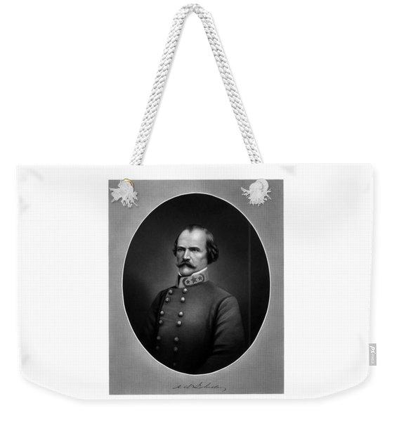 Confederate General Albert Sidney Johnston Weekender Tote Bag