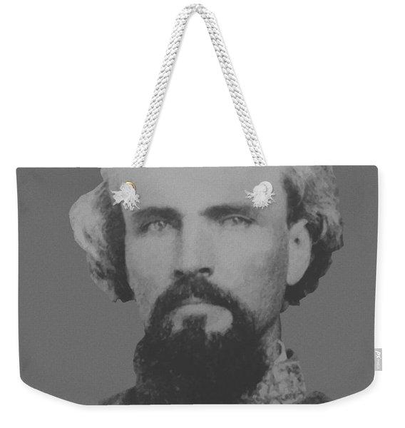 Confederate General Nathan Forrest Weekender Tote Bag