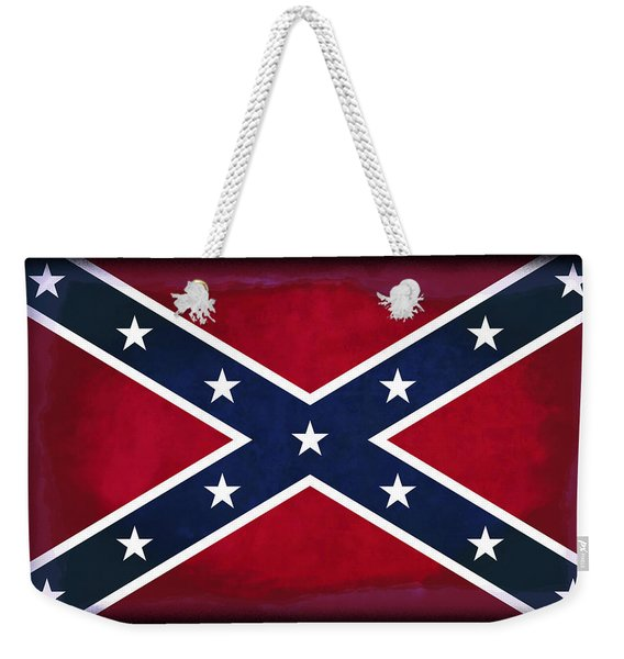Confederate Rebel Battle Flag Weekender Tote Bag