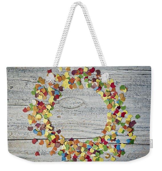 Confetti Circle Weekender Tote Bag