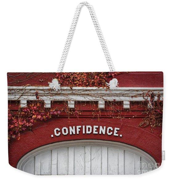 Confidence Weekender Tote Bag