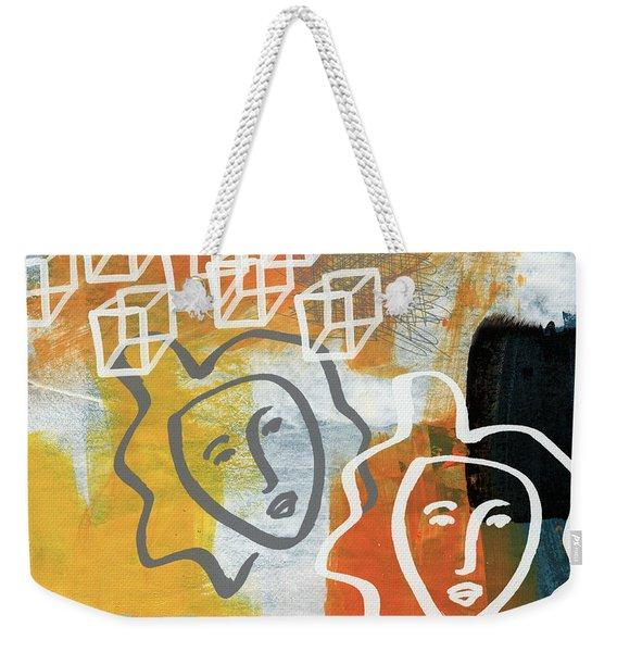 Conflicting Emotions Weekender Tote Bag