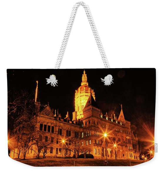 Connecticut State Capitol Weekender Tote Bag