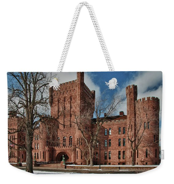 Connecticut Street Armory 3997a Weekender Tote Bag