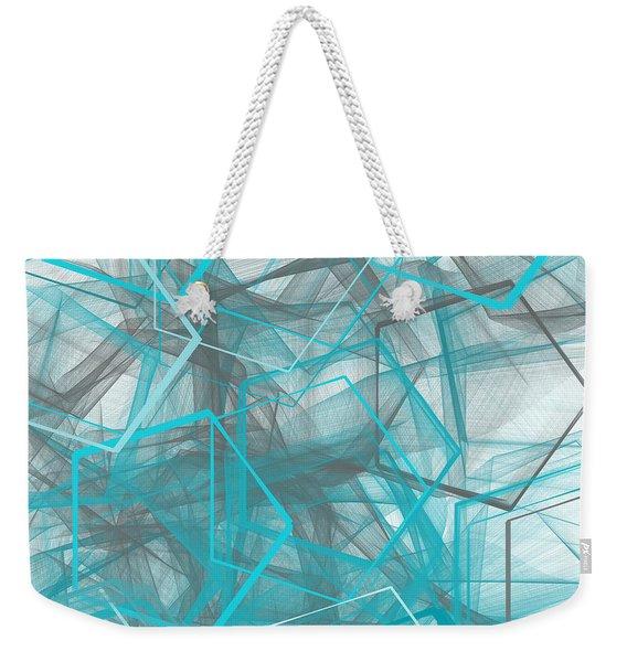 Connecting Angles Weekender Tote Bag