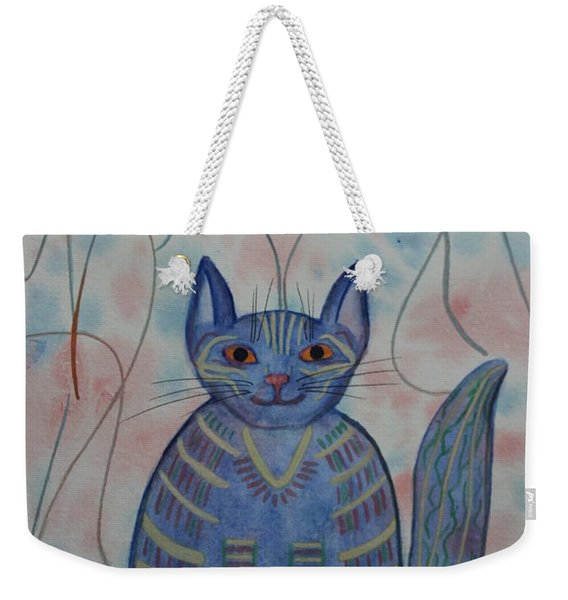 Connection Cat  Weekender Tote Bag