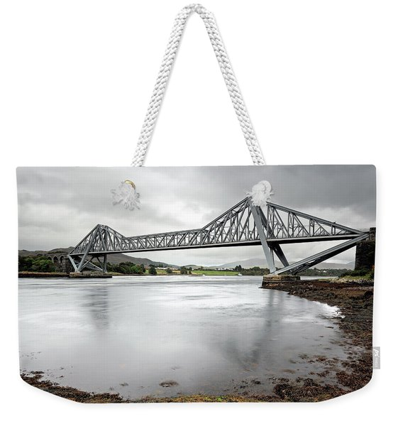 Connel Bridge Weekender Tote Bag