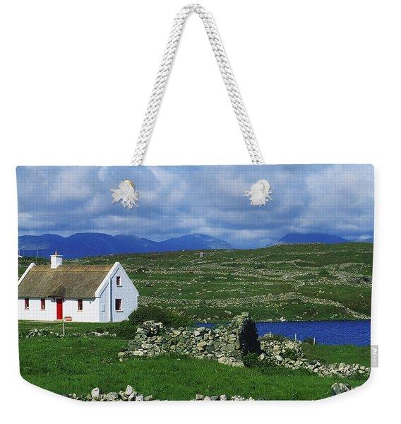 Connemara, Co Galway, Ireland Cottages Weekender Tote Bag