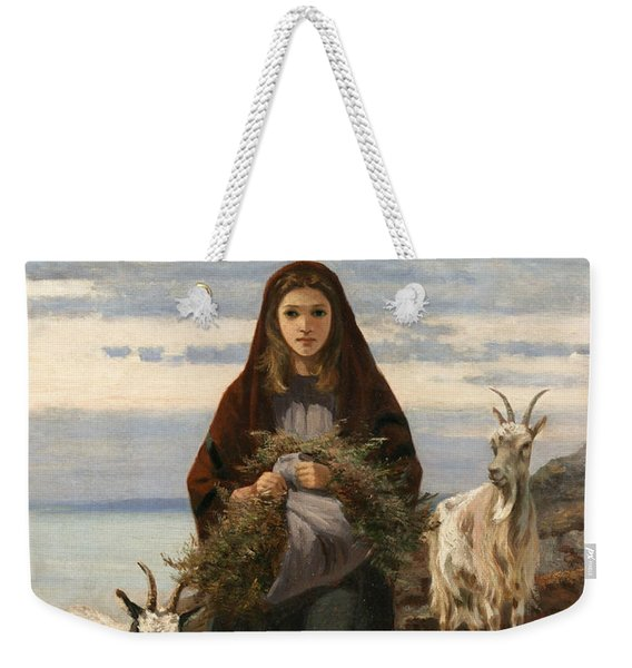 Connemara Girl Weekender Tote Bag
