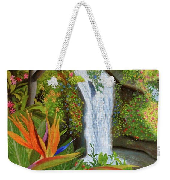Conquest Of Paradise Weekender Tote Bag