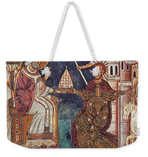 Constantine I (c280-337) Weekender Tote Bag