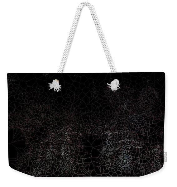 Constellation Weekender Tote Bag