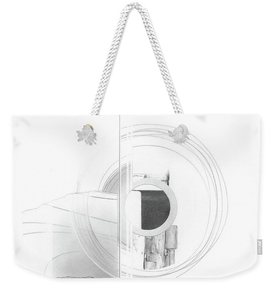 Construction No. 3 Weekender Tote Bag