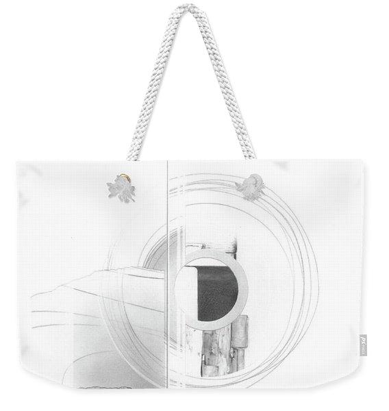 Construction No. 3 Weekender Tote Bag