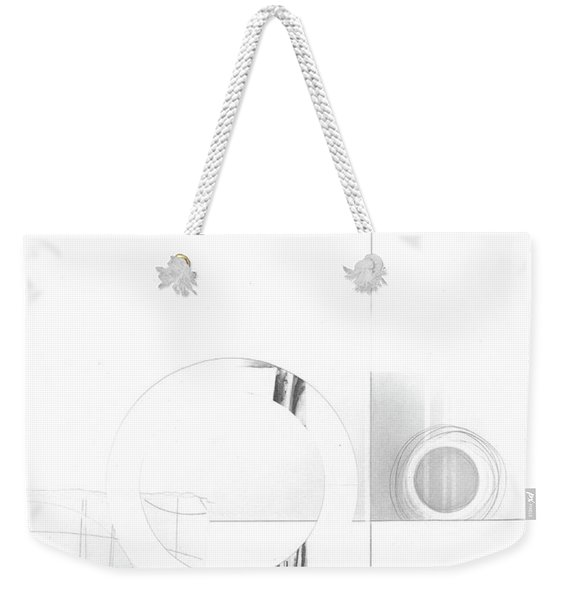 Construction No. 1 Weekender Tote Bag