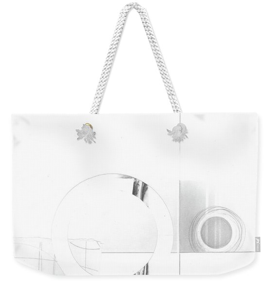 Construction No. 1 Weekender Tote Bag