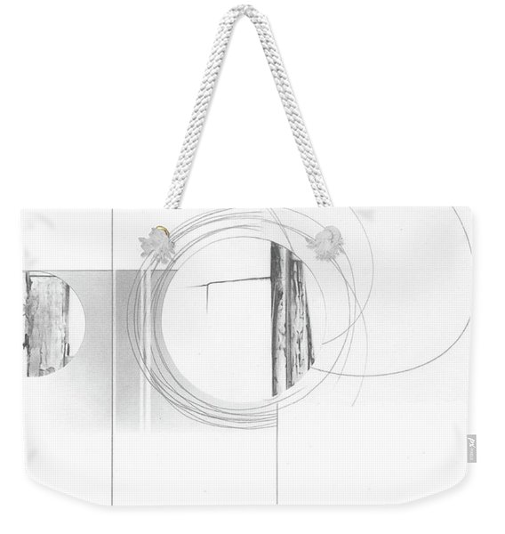Construction No. 4 Weekender Tote Bag