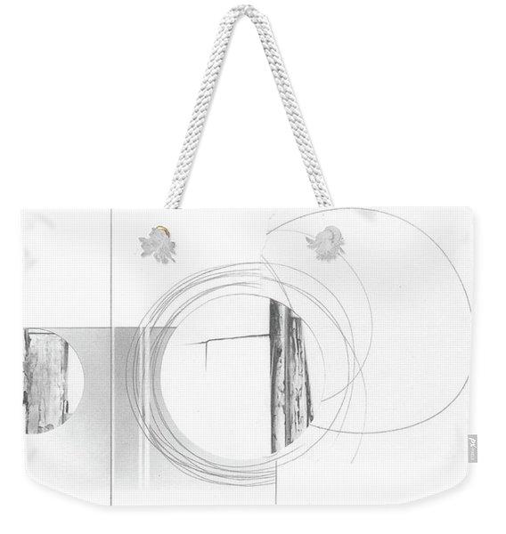 Construction No. 4 Weekender Tote Bag