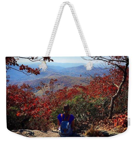 Contemplate Weekender Tote Bag